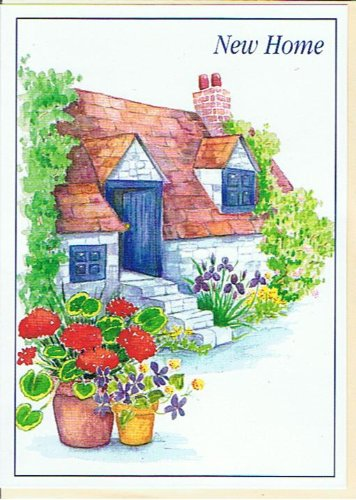Good luck congratulations on your new home greetings card flowers good luck congratulations on your new home greetings card flowers cc48 by christine coleman m4hsunfo