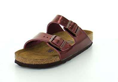 f3d49b114d1 Image Unavailable. Image not available for. Color  Birkenstock Unisex Arizona  Soft Footbed Suede Sandals