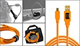 Starter Tethering Kit w/ USB 2.0 Mini-B Cable, 15 feet, Orange