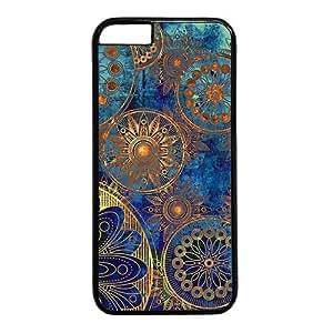 Vintage Retro Mandala Aztec Pattern Theme Iphone 6 Case (4.7inch)