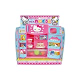 Cute Hello Kitty Refrigerator & Microwave with Various Foods &...