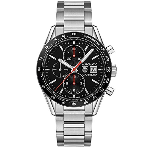 Tag Heuer Watches Tag Heuer Men's Carrera Watch (Black)