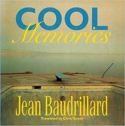 Book Cool Memories by Baudrillard, Jean (1990)