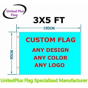 ca4e58762389 Amazon.com   3 x5  Custom flag or Banner 3x5 Foot(150X90cm) - very ...