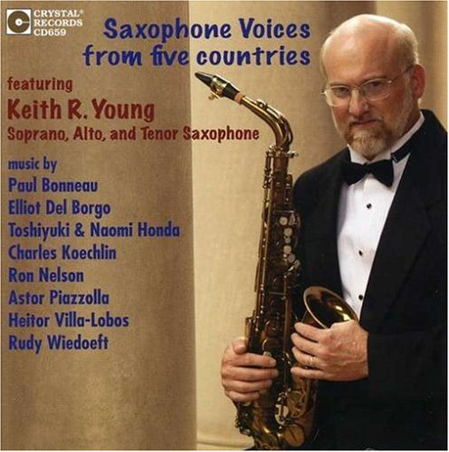 Saxophone Voices from Five Countries