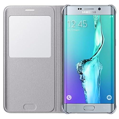 539a94a1776 Samsung BT-EFCG928PSEGWW - Funda para Samsung Galaxy S6 Edge +, color plata