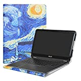 """Alapmk Protective Case Cover For 15.6"""" ASUS VivoBook S15 S510 S510UA S510UQ S510UN F510UA X510UQ Series Laptop(Warning:Not fit other model),Starry Night"""