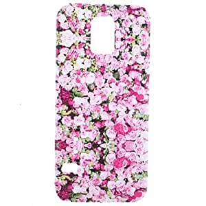 DUR Red Rose Transparent Pattern PC Hard Case for Samsung Galaxy S5 Mini G800