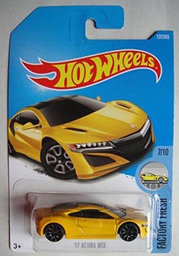 Hot Wheels 2017 Factory Fresh '17 Acura NSX 127/365, Yellow