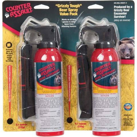 Counter Assault CA-12HVP/sb Bear Spray, 2-pack