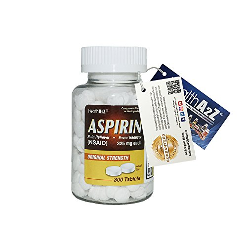 HeahlthA2Z Aspirin 325mg, 300-count,Compare to Bayer® Active Ingredients ()