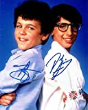 FRED SAVAGE & JOSH SAVIANO - The Wonder Years AUTOGRAPHS Signed 8x10 Photo