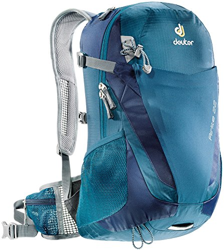 Deuter Airlite 22 Ultralight Day Hiking Backpack, Arctic/Navy (Mens Backpack Deuter)