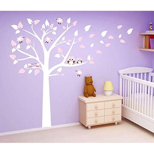 50%OFF Ufengke® Large Tree Cute Owls Wall Decals, Childrenu0027s Room Nursery  Removable Part 88
