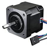 Stepper Motor Longruner Nema 17 Bipolar 38mm 64oz.in(45Ncm) 2A 4 Lead 3D Printer Hobby CNC w/1m Cable & Connector