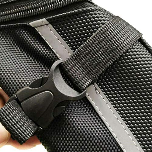 Sacoche de selle de VTT imperm/éable avec coque 3D r/éfl/échissante