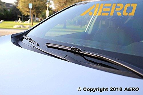 "OEM QUALITY 28"" + 12"" AERO Premium All-Season Windshield Wiper Blades (Set of 2)"