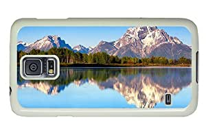 Hipster Samsung Galaxy S5 Case new mount moran PC White for Samsung S5