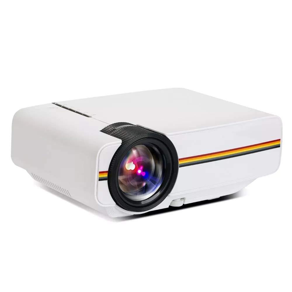 CuteLife Proyector de Rendimiento Mini proyector LED 2000 lúmenes ...