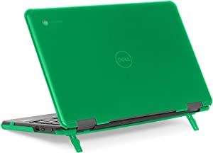 "mCover Hard Shell Case for 11.6"" Dell Chromebook 11 3100 Education non-2-in-1(180-degree Hinge) Laptop (NOT Compatible with 3181/3100 2in1, 210/3120/3180/3189/5190 Series) - Dell-C3100-non2in1 Green"