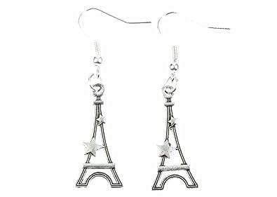 Boucle Doreille Tour Eiffel 7