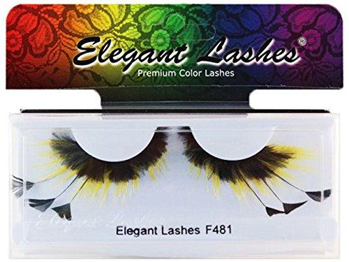 [Elegant Lashes F481 Premium Feather False Eyelashes