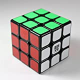 GoodPlay YJ Moyu Weilong 3X3X3 Version 2 Speed Cube Puzzle V2 Sticker Black (+One Cube Tripod)