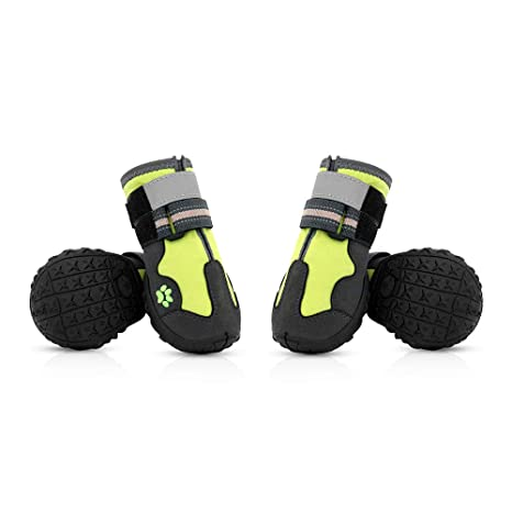 e4c18be4fe5 Amazon.com : ECtENX Large Dog Shoes Boots Running - Dogs Winter ...