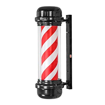 kodnn LED 71cm Poste de Barbero Luminoso,Giratorio Esclarecedor ...