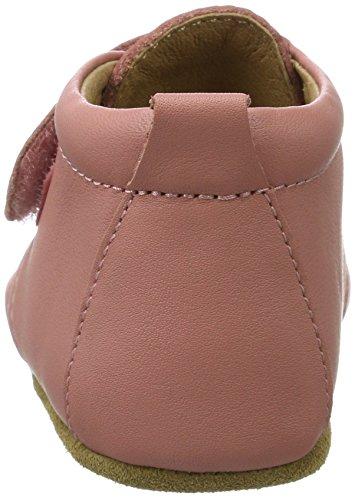 Bisgaard Unisex Baby Velcro Star Pantoffeln Pink (91 Rosa)
