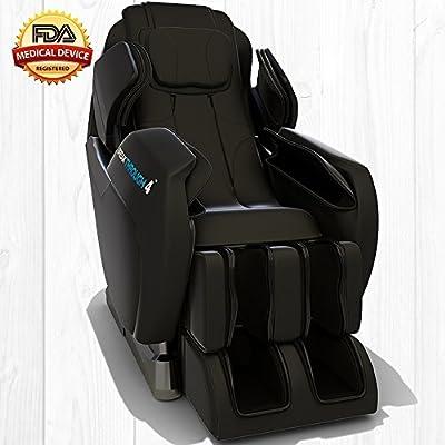 Medical Breakthrough 4 Massage Chair Recliner - Zero Gravity, Built-in Heat, Deep Tissue Shiatsu Massage, and Back Stretch
