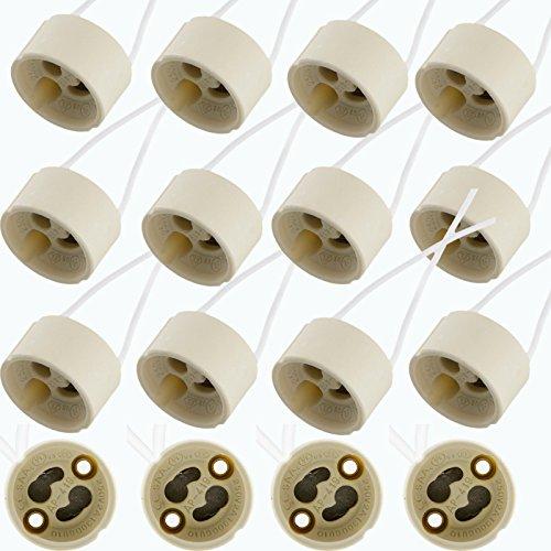 lot-gu10-wire-connector-socket-holder-ceramic-base-for-led-halogen-bulb-light