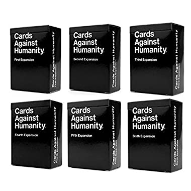 Cards Against Humanity Expansions 1 2 3 4 5 6