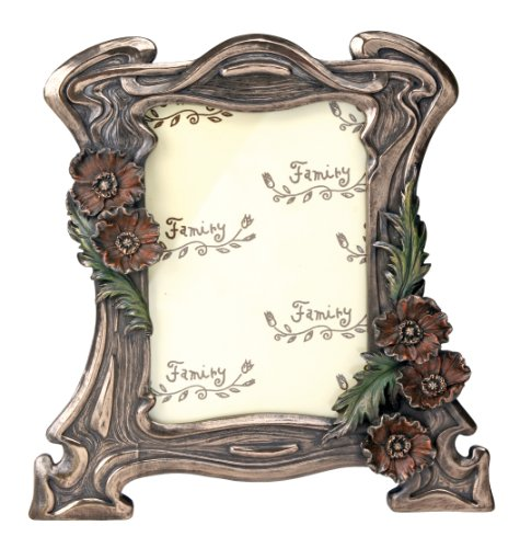 YTC Summit Art Nouveau Poppy Picture Frame