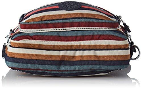 Womens Multiple Multicolour Kipling Multi Stripes Bag Shoulder pqw550dC