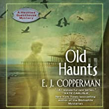 Old Haunts Audiobook by E. J. Copperman Narrated by Amanda Ronconi