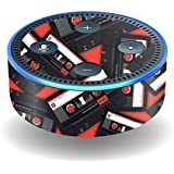 MightySkins Skin for Amazon Echo Dot (2nd Gen) - Mixtape | Protective, Durable, and Unique Vinyl Decal wrap Cover | Easy to Apply, Remove, and Change Styles | Made in The USA