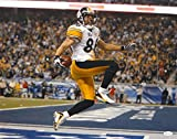 Hines Ward Autographed 16x20 Celebraing in SB Photo- JSA W Authenticated