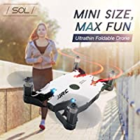 ZZSYU JJRC H49 WiFi FPV Selfie Drone 720P HD Camera Auto Foldable Arm RC Quadcopter (White)