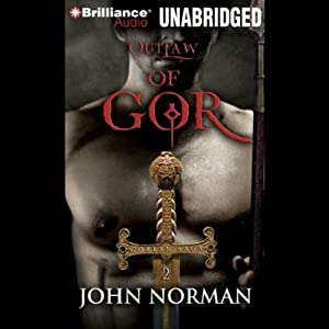 Outlaw of Gor Audiobook
