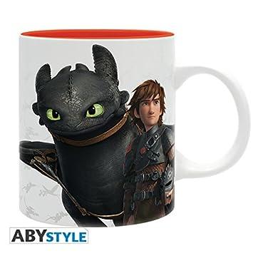 Mug HaroldKrokmouamp; Dragons Ml 320 Emblème Abystyle rxCBthQds