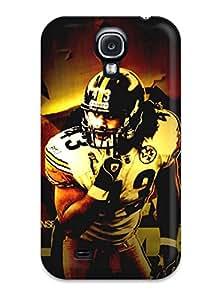 Tpu JenniferJune Shockproof Scratcheproof Pittsburgteelers Hard Case Cover For Galaxy S4