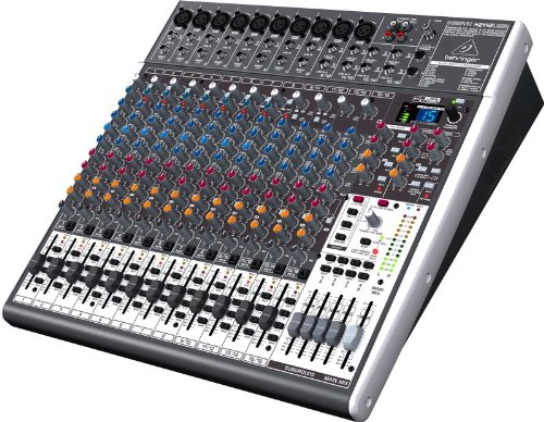 Behringer XENYX X2442USB Premium 24-Input Mixer/Audio Interface (Stereo Compressor Multi Band)