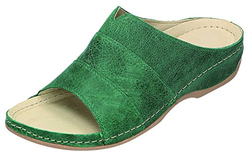 MICCOS - Zuecos para mujer Verde verde Verde - verde