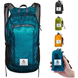 4monster Durable Packable Backpack - Ultra Lightweight Water Resistant Foldable Outdoor Daypack Collapsible Backpack for Day Hiking, Travel