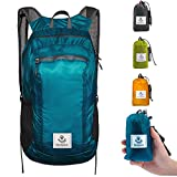 4monster Durable Packable Backpack by Ultra Lightweight Water Resistant Travel Hiking Foldable Outdoor