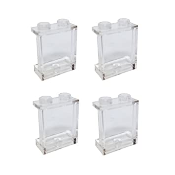 Amazon.com: Lego Parts: Panel 1 x 2 x 2 with Side Supports - Hollow ...