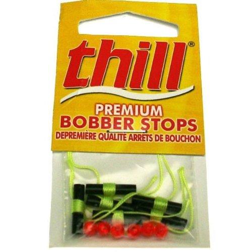 - Thill Premium Bobber Stops -  Fluorescent Yellow - 40