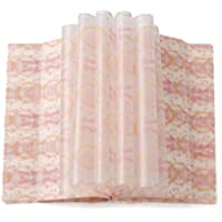 100 pcs wax paper sheets Greaseproof WaterproofPaper Wrapping Tissue Food Picnic Paper for Food Basket Liner Applicable…