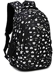 Goldwheat Women Girls Backpack Travel Racksack Shoulder Daypack School Bag Bookbag